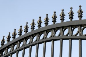 Iron gate for security